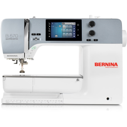 Machine à coudre BERNINA 570 QE (V2 9mm) + cadeau*